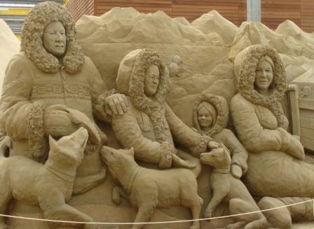 zandsculptuur